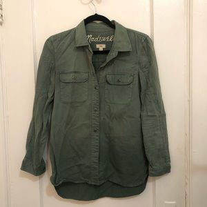 Madewell Utility Button Down Shirt
